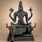 1967 12 15 1Bronze sculpture of Vishnu
